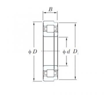170 mm x 360 mm x 120 mm  KOYO NUP2334 cylindrical roller bearings