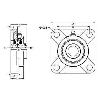 AST UCF 204-12G5PL bearing units