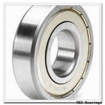55 mm x 100 mm x 21 mm  NKE 6211-2RS2 deep groove ball bearings